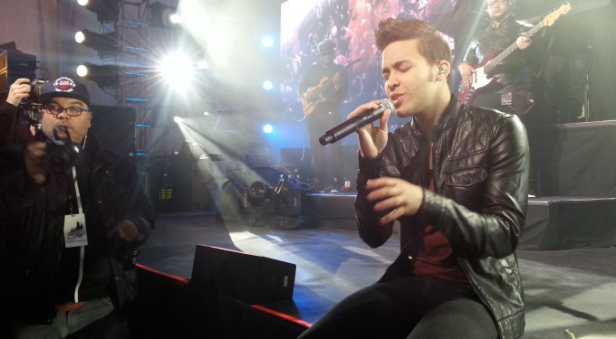 Photos: Watch Prince Royce Rock Super Bowl 48 In NYC!