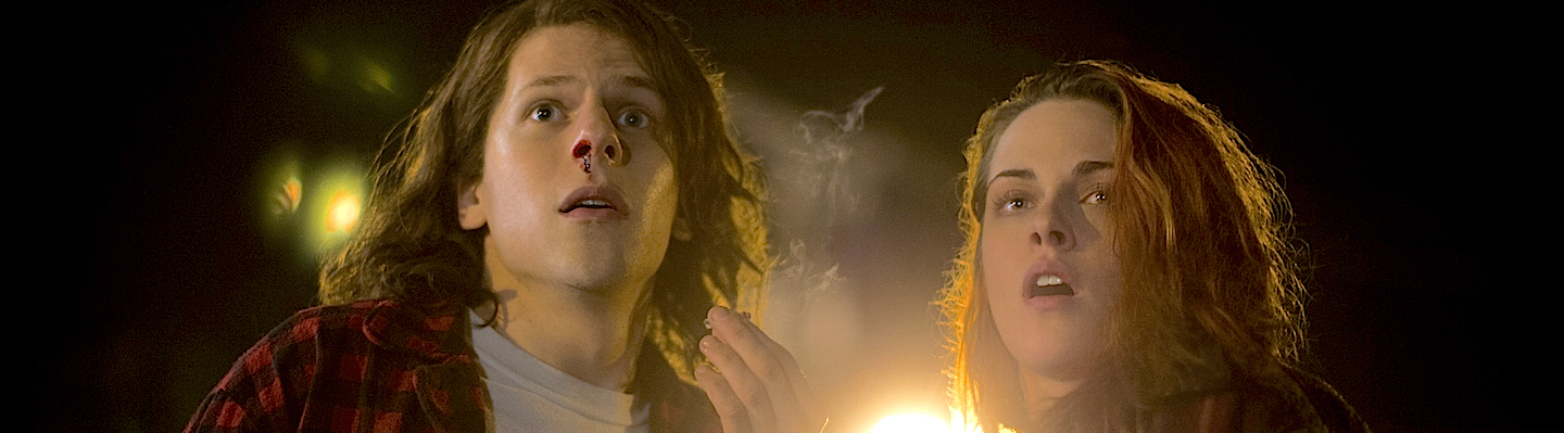 Kristen Stewart & Jesse Eisenberg Talk Marijuana Movie 'American Ultra'