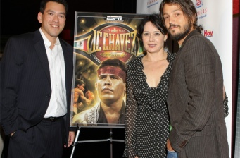Diego Luna at the JC Chavez premiere in Los Angeles