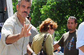 George Clooney films in Puerto Rico