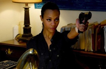 Zoe Saldana could work alongside Batman