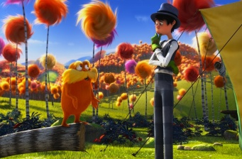 'Dr. Seuss' The Lorax' continues in 1st place