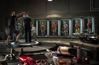 "First official picture from ""Iron Man 3""!"