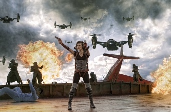 'Resident Evil: Retribution' opens at #1