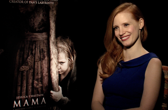 "Jessica Chastain on horror movies: ""They're fun to cuddle"""