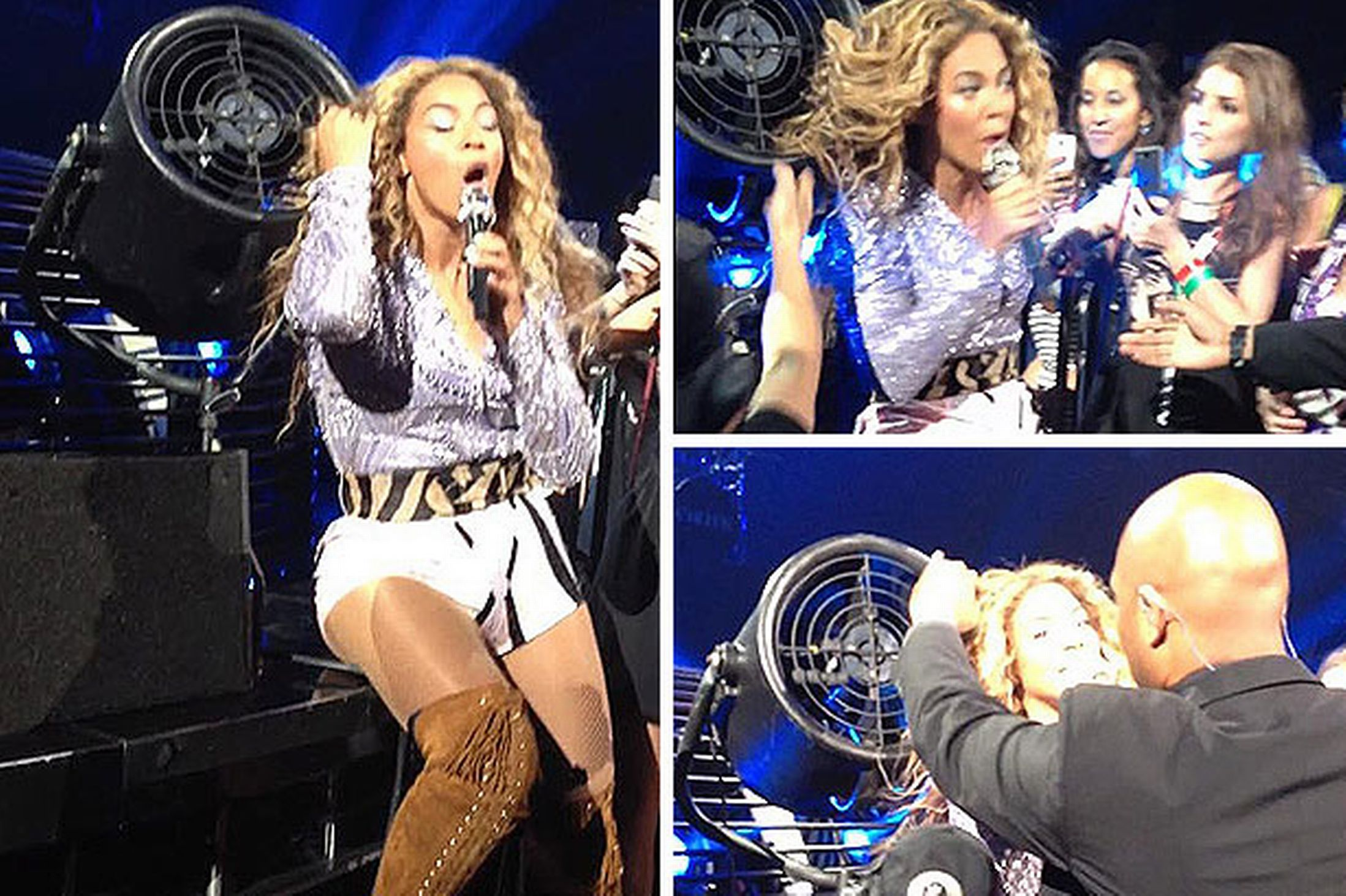 Watch Beyoncé Win A Hair Yanking Fight With A Fan