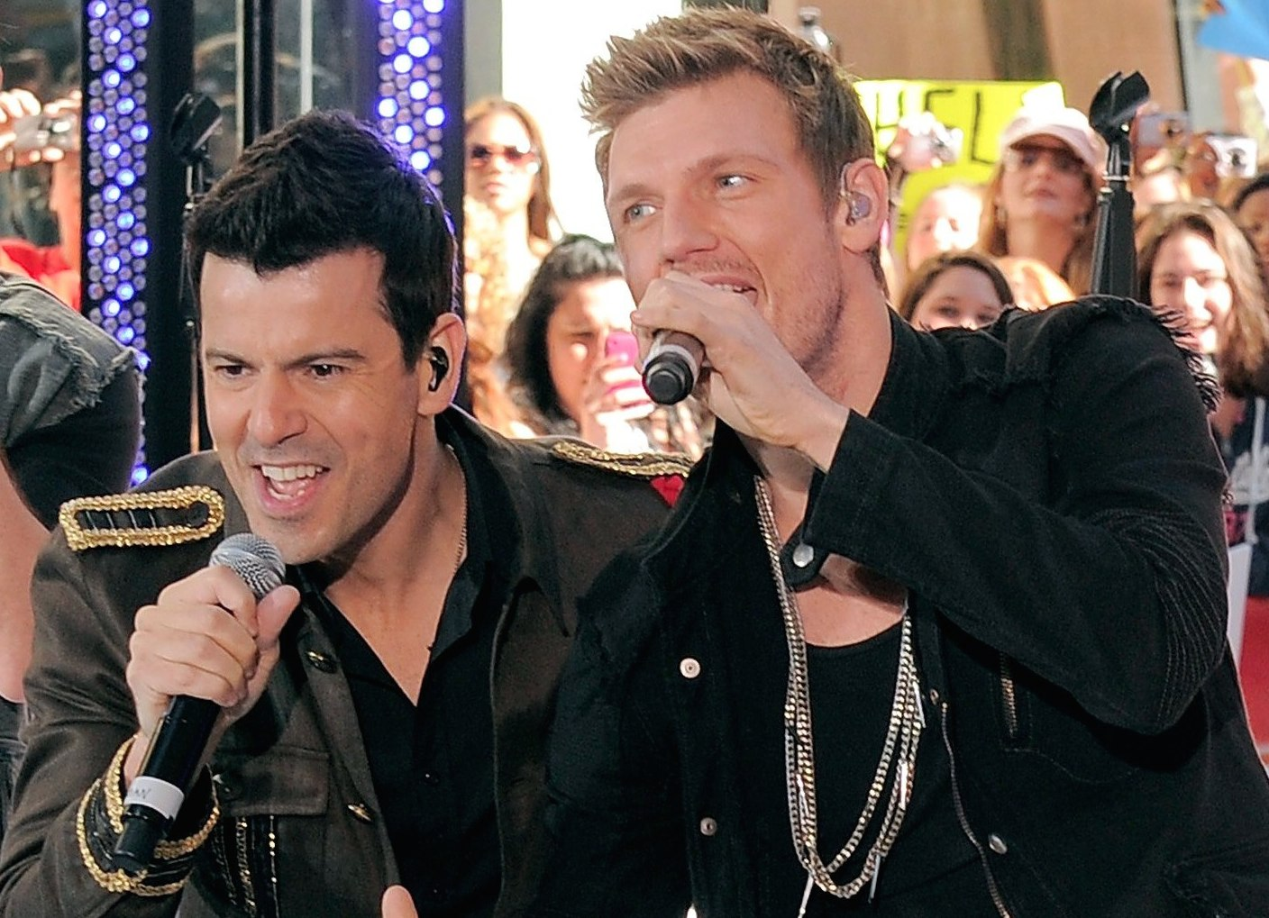 Boy Band Dream Come True! Nick Carter & Jordan Knight Form New Duo