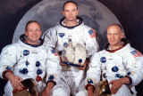 Real life crew of Apollo 11