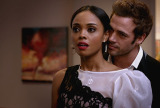 William Levy and Sharon Leal in 'Addicted'