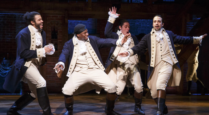 Lin-Manuel Miranda's 'Hamilton' Heads To Broadway!