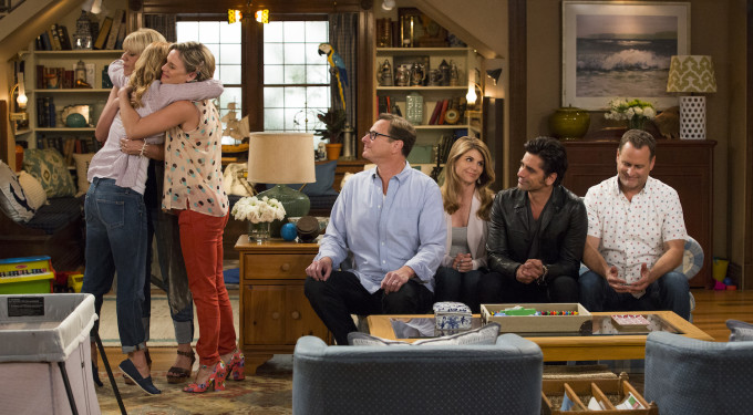 "First Look Images From Netflix's ""Fuller House"""
