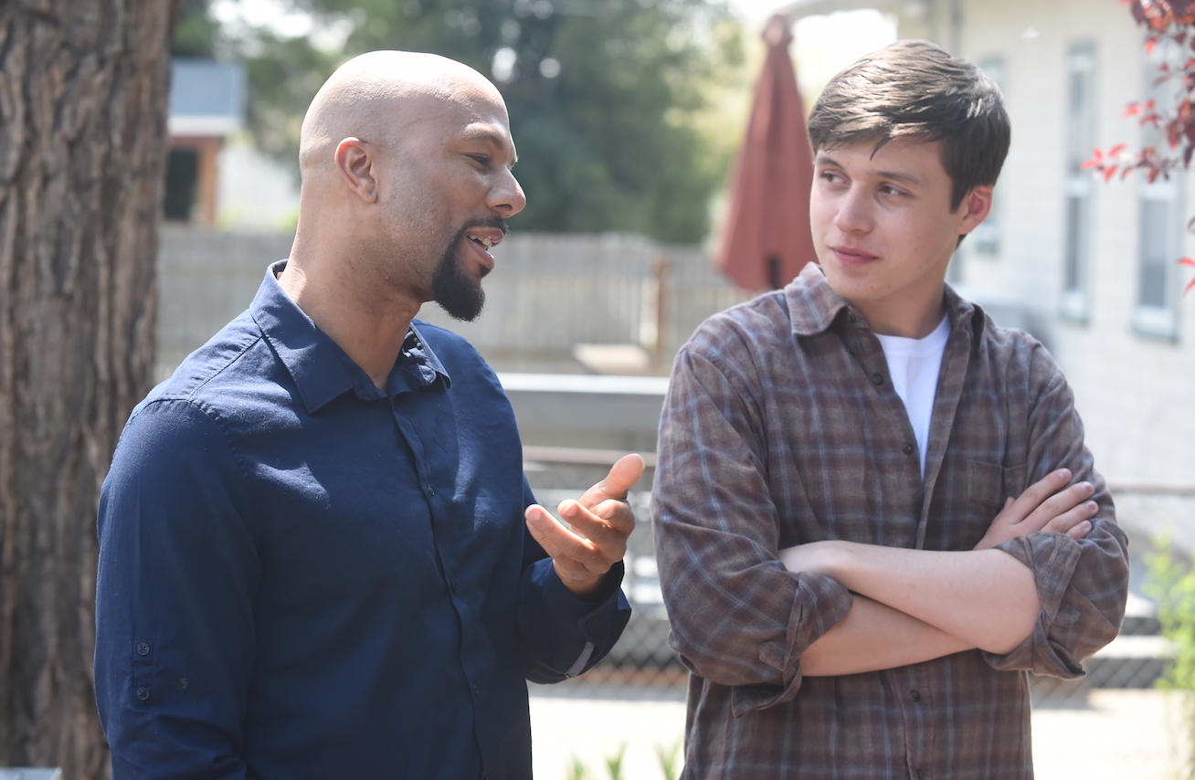 Common and Nick Robinson Photo by Fred Hayes