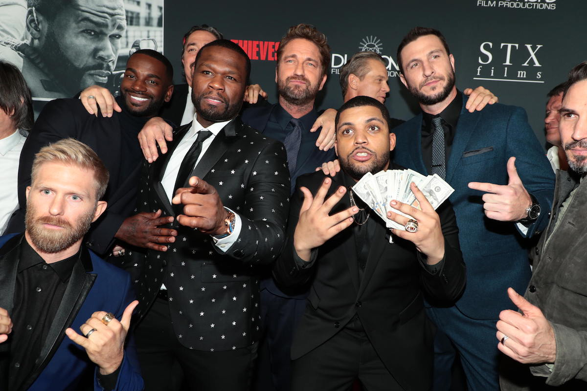 Q&A With Cast Of 'Den Of Thieves' (Gerard Butler, 50 Cent, O'Shea Jackson Jr.)