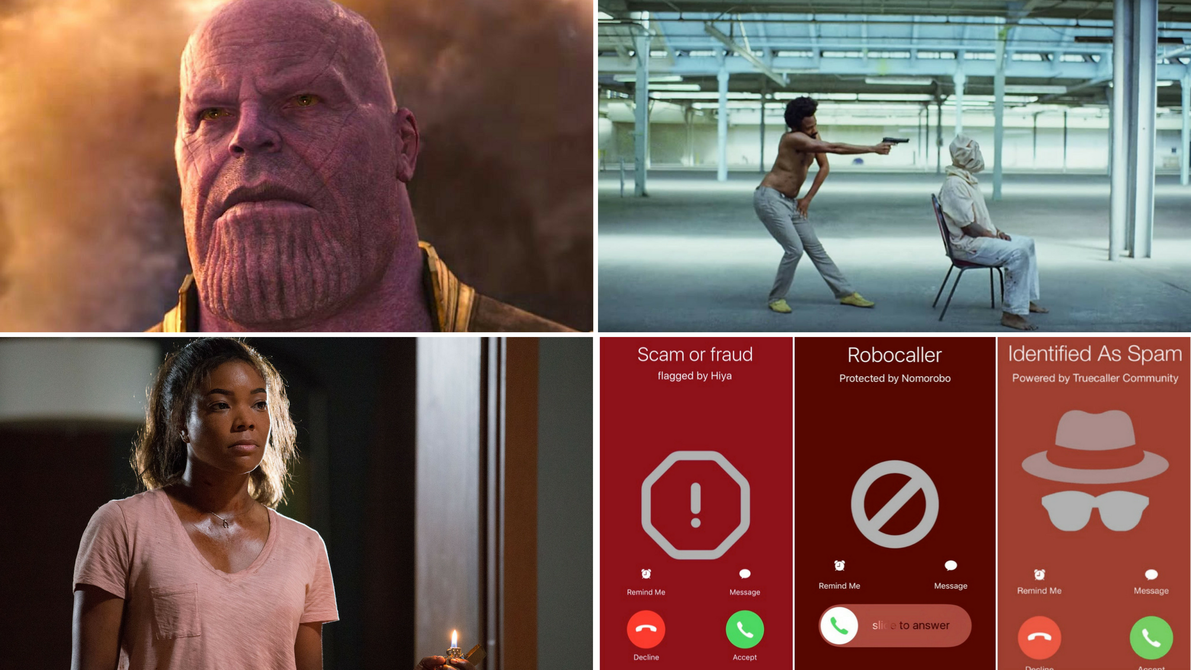 "PODCAST: How Should ""Avengers: Infiniti War"" Be Watched, Childish Gambino's ""This Is America"", ""Breaking In"" Review, Spam Calls"