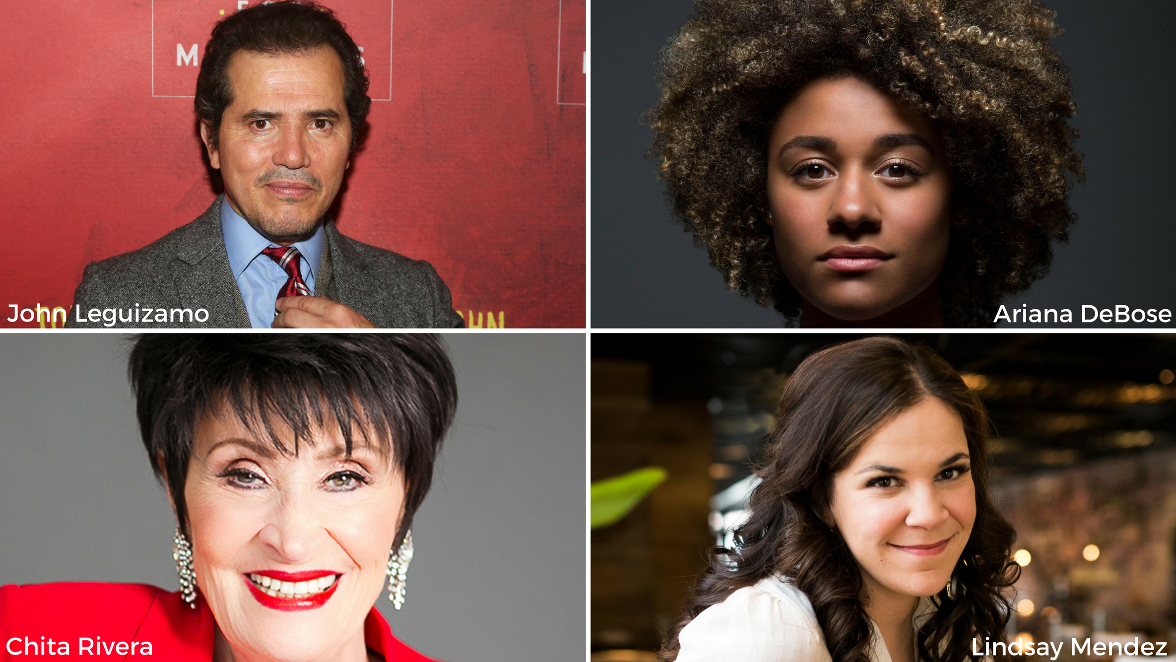 Latinx's John Leguizamo, Ariana DeBose, Lindsay Mendez and Chita Rivera Selected For 2018 Tony Awards